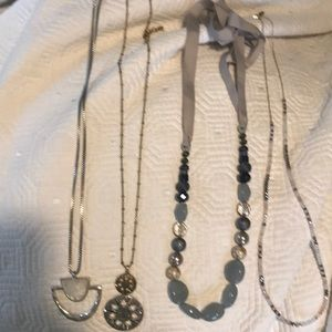 Lucky and LOFT long necklace bundle